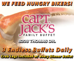 Capt Jacks Buffet | We Feed Hungry Bikers
