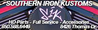 Southern Iron Kustoms - HD parts & Service