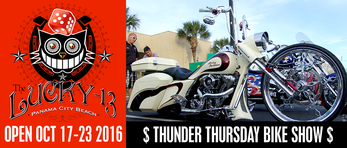 Thunder Thursday Bike Show