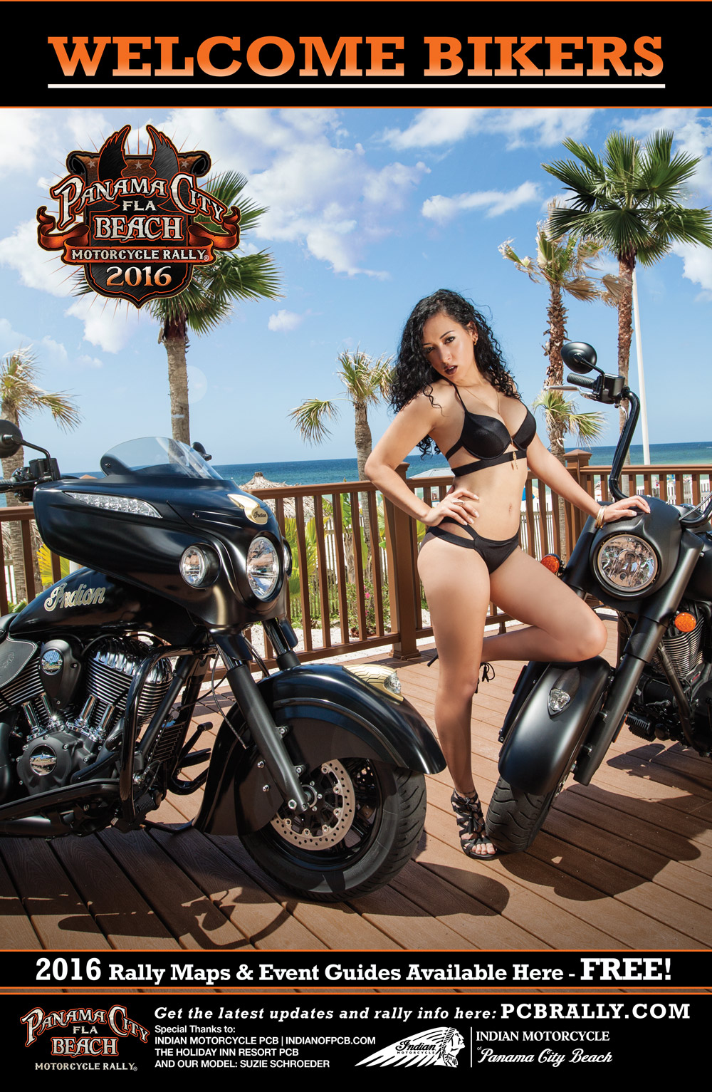 Panama City Beach Motorcycle Rally® Poster
