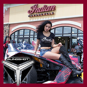 Indian Motorcycle of PCB | Polaris Slingshot