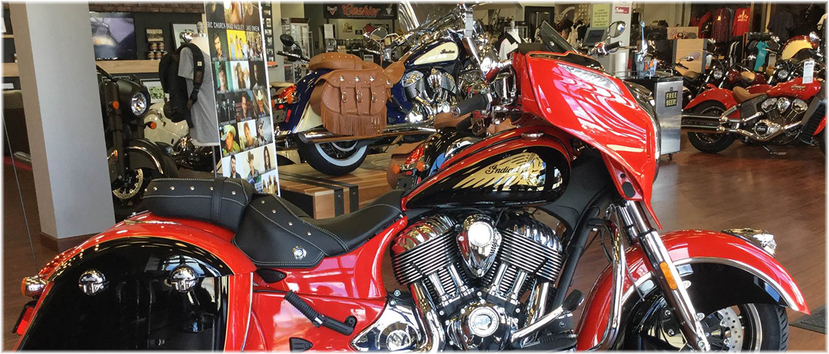 Indian Motorcycle of Panama City Beach Showroom
