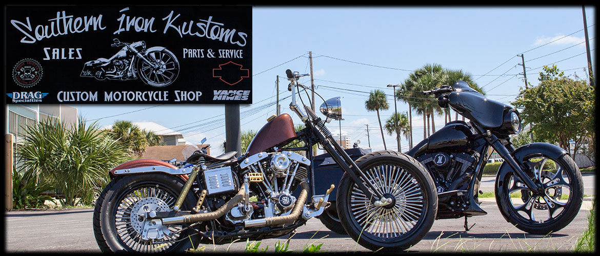 Southern Iron Kustoms | SIK Cycles