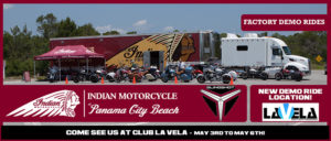 Indian Motorcycle of Panama City Beach Spring Demo Rides