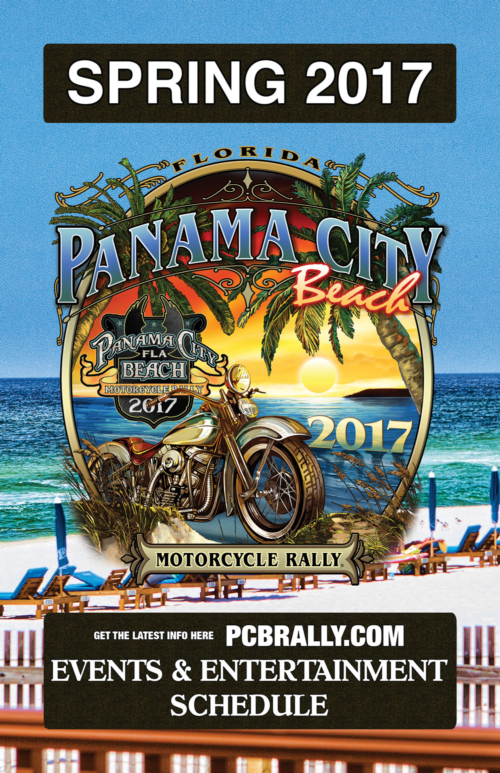 2017 Panama City Beach Motorcycle Rally® Spring Rally Guide