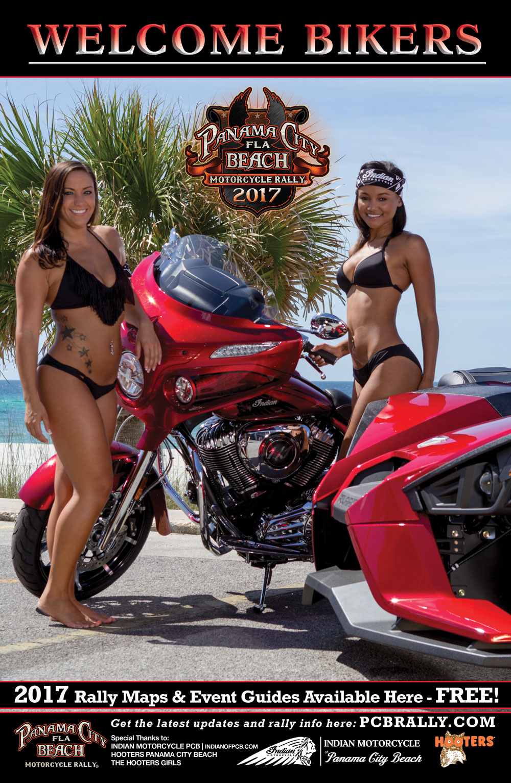 2017 Panama City Beach Motorcycle Rally® Poster