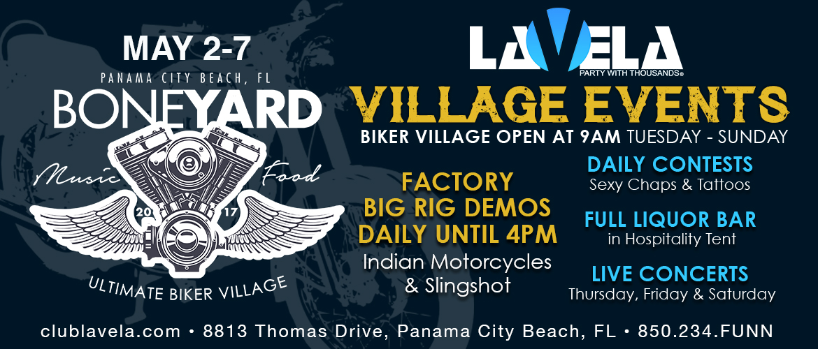 Panama City Beach Motorcycle Rally® Venue | Club La Vela - Party with Thousands!