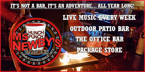 Panama City Beach Motorcycle Rally® | Ms. Newby's. Newby's Too, Newby's Brew House
