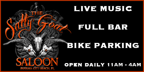 Panama City Beach Motorcycle Rally® | Salty Goat Saloon